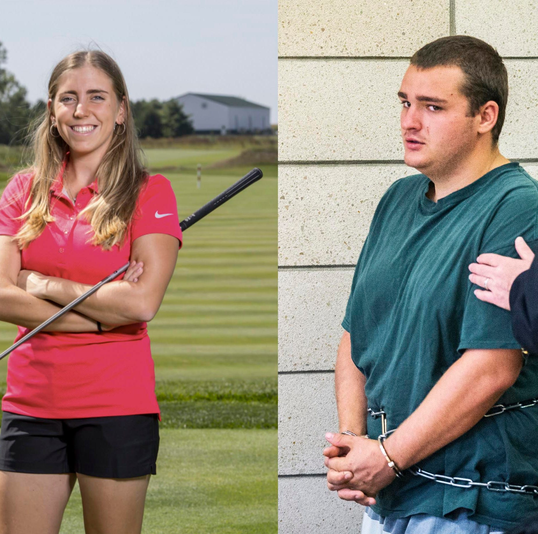 Collin Richards asks for new lawyer in Iowa State golfer slaying case