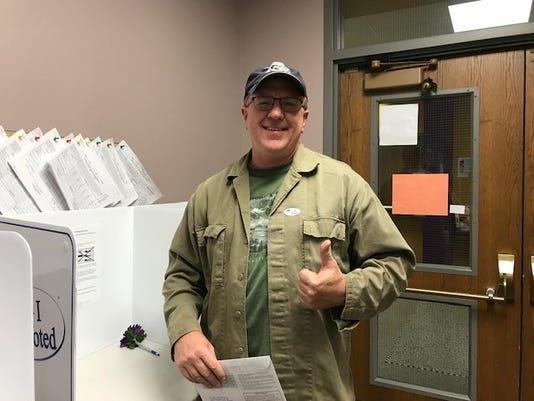 Troy Westrum Norwalk Voter