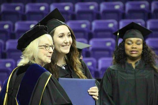Nicole Hawkeye Graduation