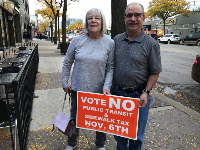 Jennifer and Donald Roberts said they planned to vote against both of Royal Oak's upcoming milleage questions.