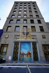 The building at the corner of Griswold street and West Jefferson Avenue in Detroit will be the new home of the Church of Scientology in Detroit.