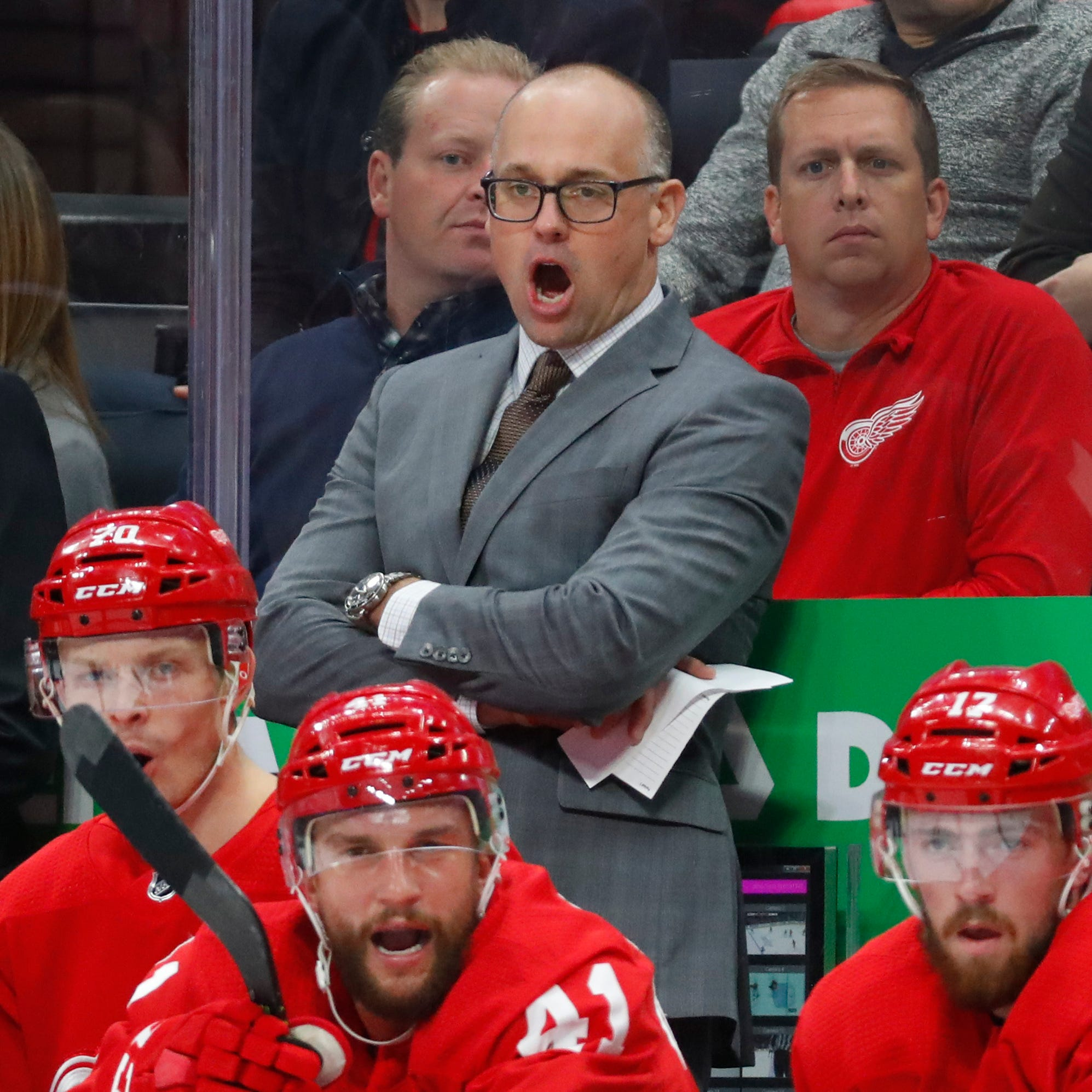 Detroit Red Wings' Jeff Blashill: 'Great to hear' Yzerman believes in me