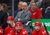 Red Wings are focusing on being smarter with the puck as they look to rebound from 0-3-2 start. Recorded Oct. 14, 2018 in Montreal.