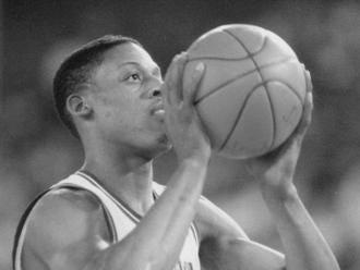 DETROIT PISTONS: Dennis Rodman, F, No. 10 (1986-93)