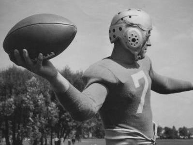 DETROIT LIONS: Dutch Clark, QB, No. 7 (player, 1934-38; coach, 1937-38)