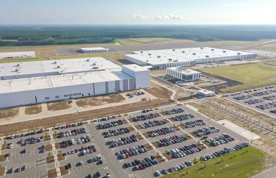 Located northwest of Charleston, South Carolina, Volvo's assembly plant is the first US plant for the China-owned, Swedish manufacturer.