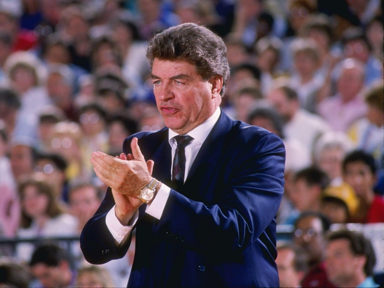 DETROIT PISTONS: Chuck Daly, coach, No. 2 (1983-92)