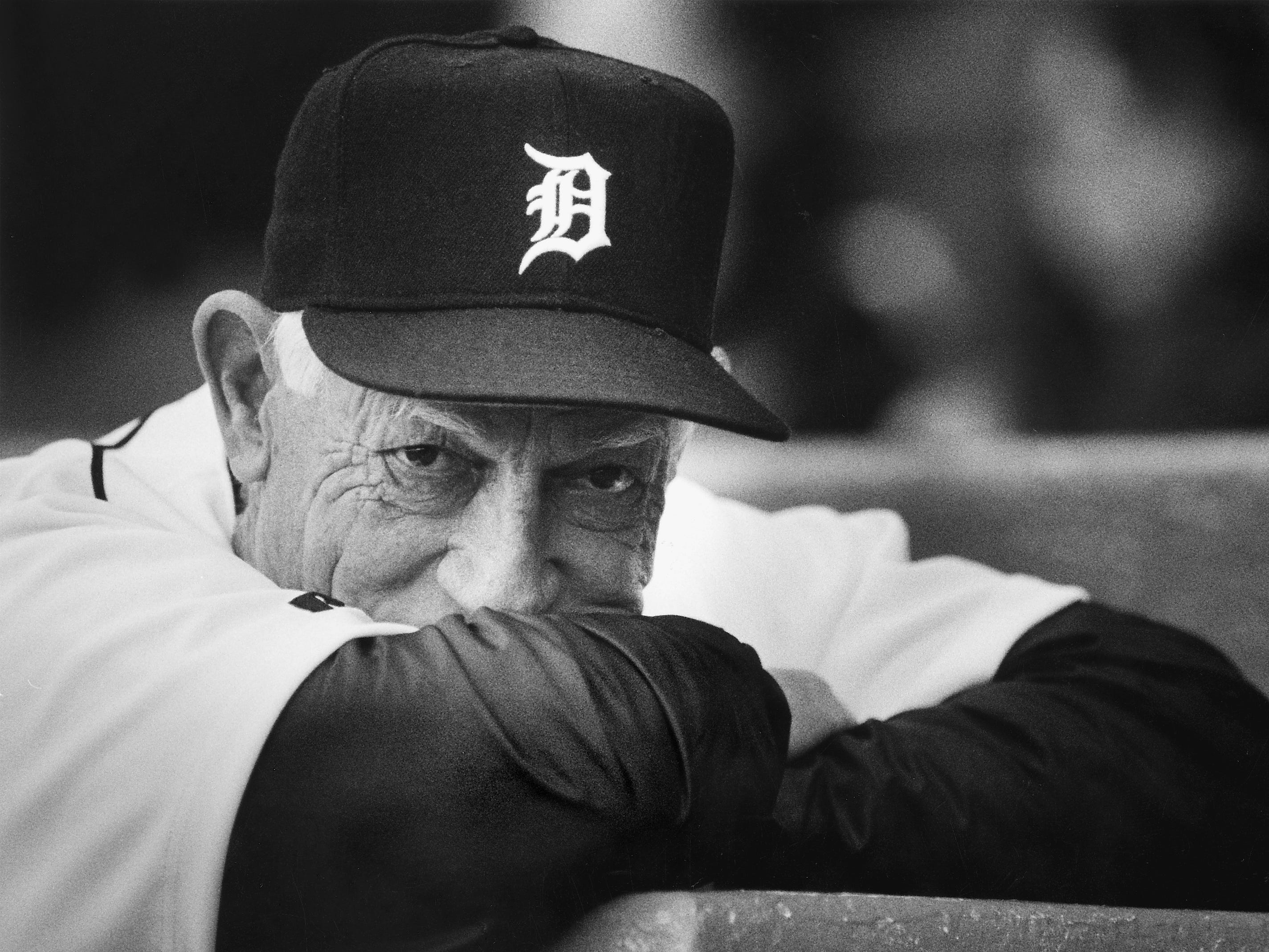 "DETROIT TIGERS: George ""Sparky"" Anderson, manager, No. 11 (1979-95)"