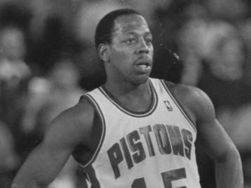 DETROIT PISTONS: Vinnie Johnson, G, No. 15 (1981-91)