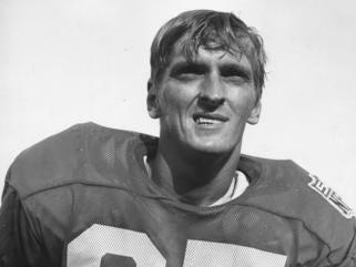 DETROIT LIONS: Chuck Hughes, WR, No. 85 (1970-71)