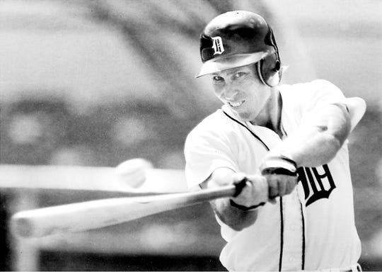 Alan Trammell played his entire career with the Tigers.