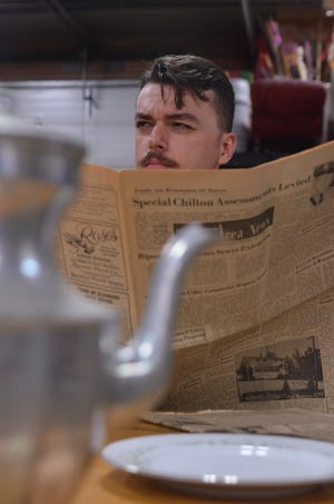 """John Stratman will portray Dr. John Watson in Fond du Lac Community Theatre's staging of """"The Hound of the Baskervilles."""""""