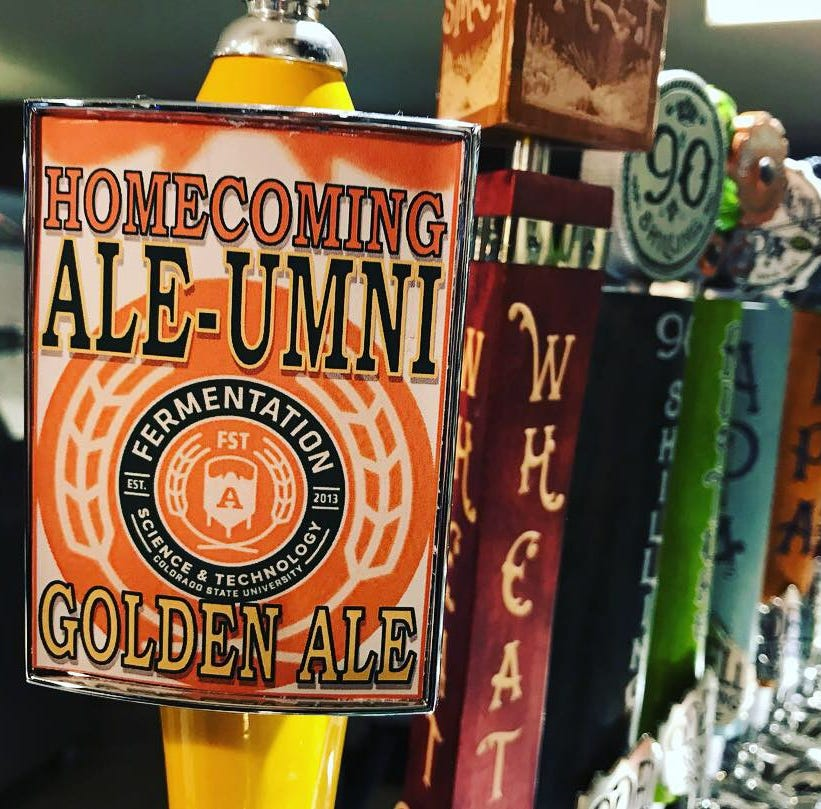 Colorado State University taps its first student-made beer