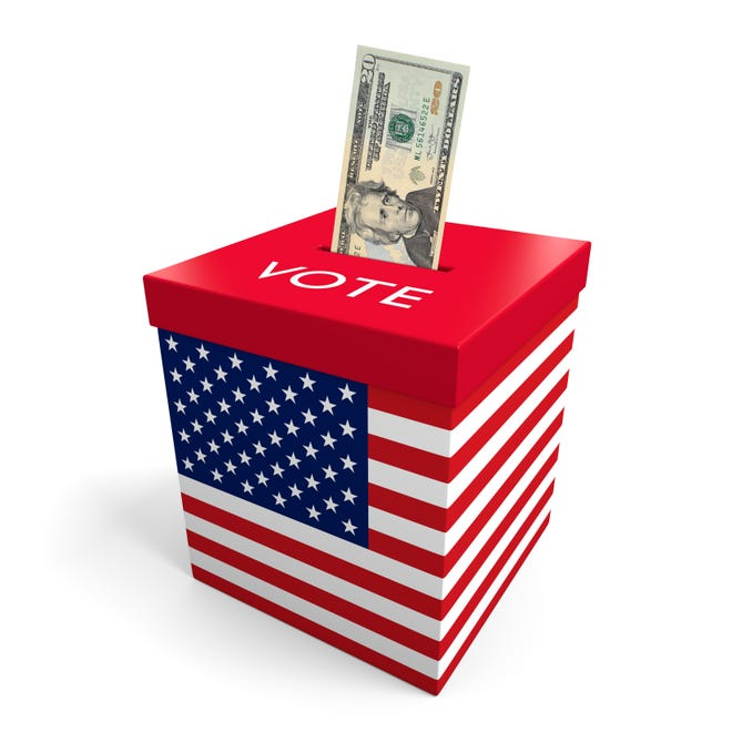 Amendment 75 on Colorado ballots in November 2018 would allow higher individual contributions in races where one of the candidates spends $1 million or more of his or her own money in their race.