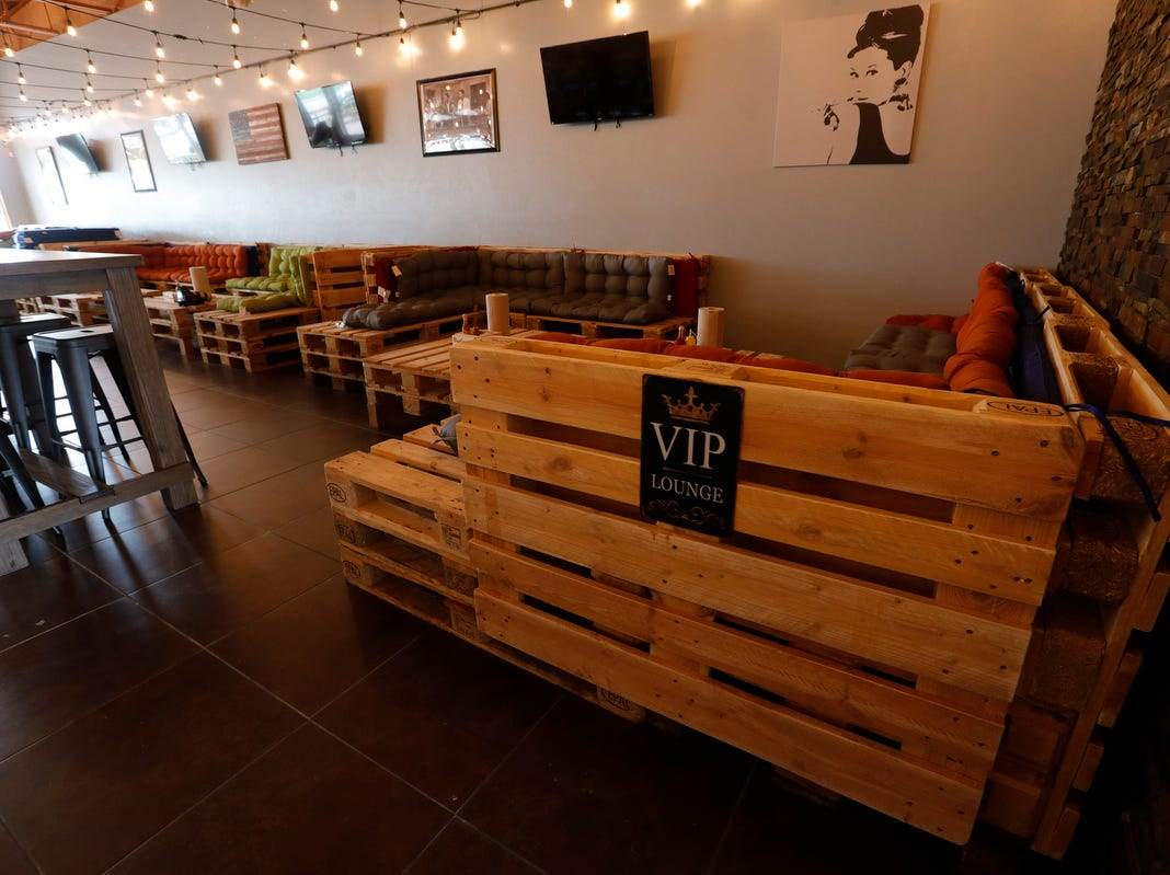 The new Backyard Beer Garden in downtown Cape Coral, is owned by Chris Ilardi and Gabe Ferraro, and will open to the public on Wednesday, Oct. 17, 2018.