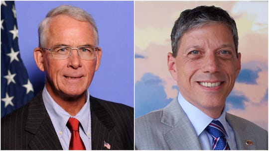 Francis Rooney (left) and David Holden (right)