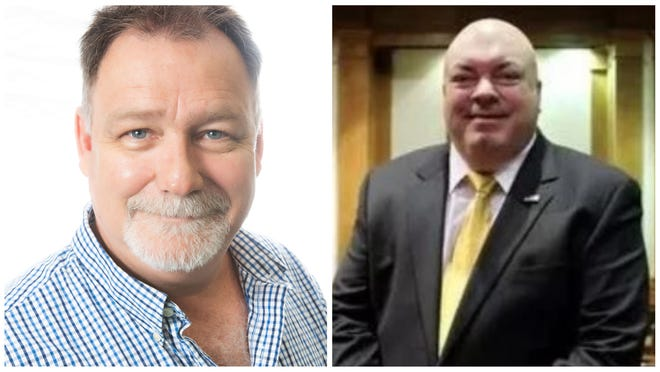 Bill Taylor, left, and Cecil Pendergrass are Lee County commissioner candidates.