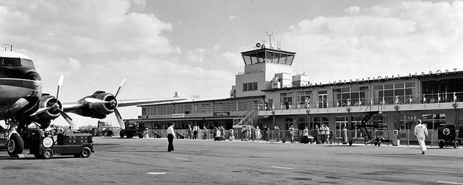 Tampa International Airport in 1952.