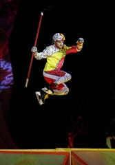 "Cirque du Soleil's ""Crystal"" opened a four-day run Thursday at the Resch Center in Ashwaubenon."