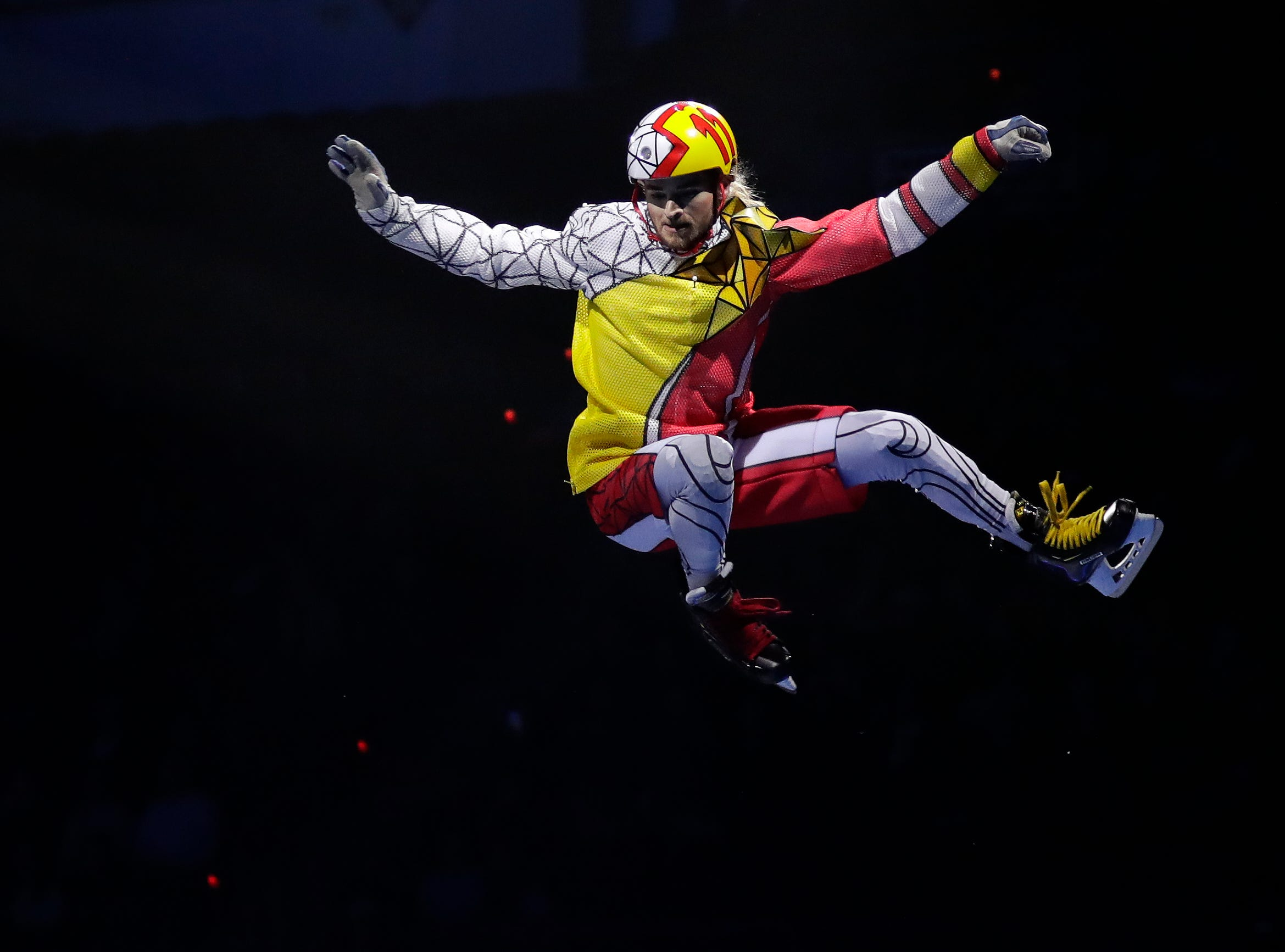 """Cirque du Soleil's """"Crystal"""" opened Oct. 11, 2018 at the Resch Center in Ashwaubenon, Wis. with shows continuing through Oct. 14, 2018."""