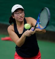Stevens Point Area Senior High senior Sabrina Tang won a pair of matches Saturday to bring home a fifth-place finish at the Division 1 state singles tournament at the Nielsen Tennis Stadium in Madison.