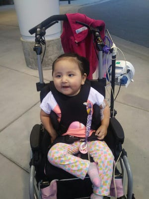 Amari Ahenakew, 2, is a Great Falls girl who has seen her share of hospitals. And then some. She has a rare disease called PC deficiency.