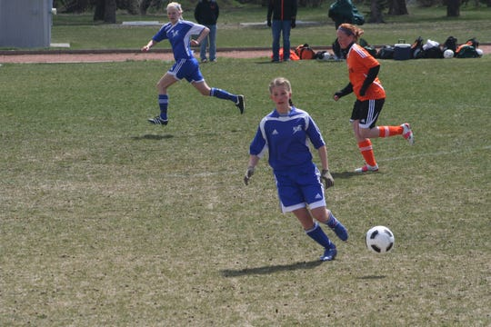 Payton Netz and Talya Vaira have been soccer teammates since they were young girls growing up in Great Falls.