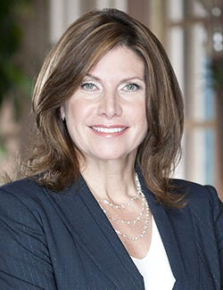 USA Gymnastics announced Friday that Mary Bono was appointed to interim president and CEO of the federation.