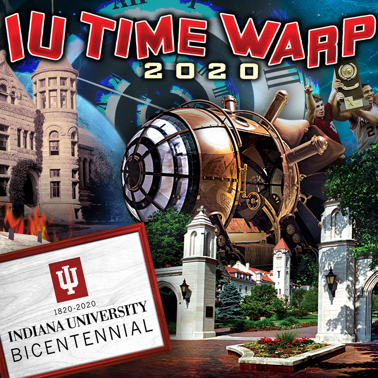 Escape Room Indianapolis imagines the world without Indiana University. Dystopia ensues.
