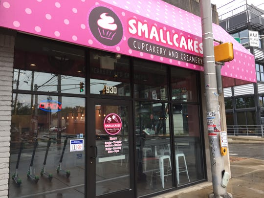 Smallcakes Cupcakery and Creamery opened Sept. 30, 2018, at 930 Broad Ripple Ave., Indianapolis.