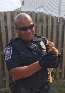 Officer Binh Dennis is in critical condition after an off-duty motorcycle accident