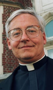 The Rev. Bernard Knoth is shown in this October 1996 file photo taken at the university in New Orleans.