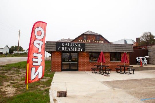 Kalona Creamery is seen on Friday, Oct. 12, 2018, off of Highway 1 in Kalona, Iowa.