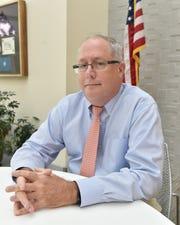 Sam Howell, director of the Mississippi Crime Lab. Thursday, Oct. 11, 2018.