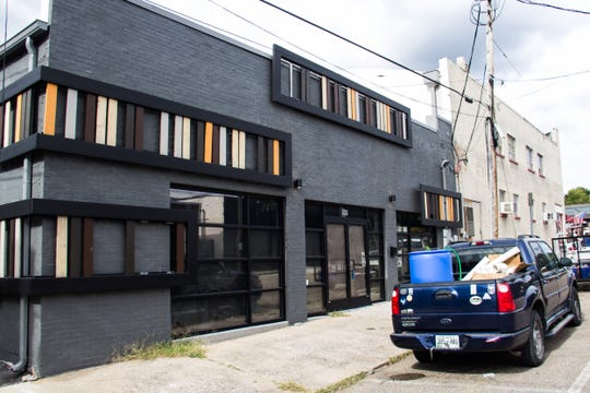 This building at 109 W. Anderson St. will house The Outpost music venue until March before Abridged begins working to open a sour beer facility in the location.