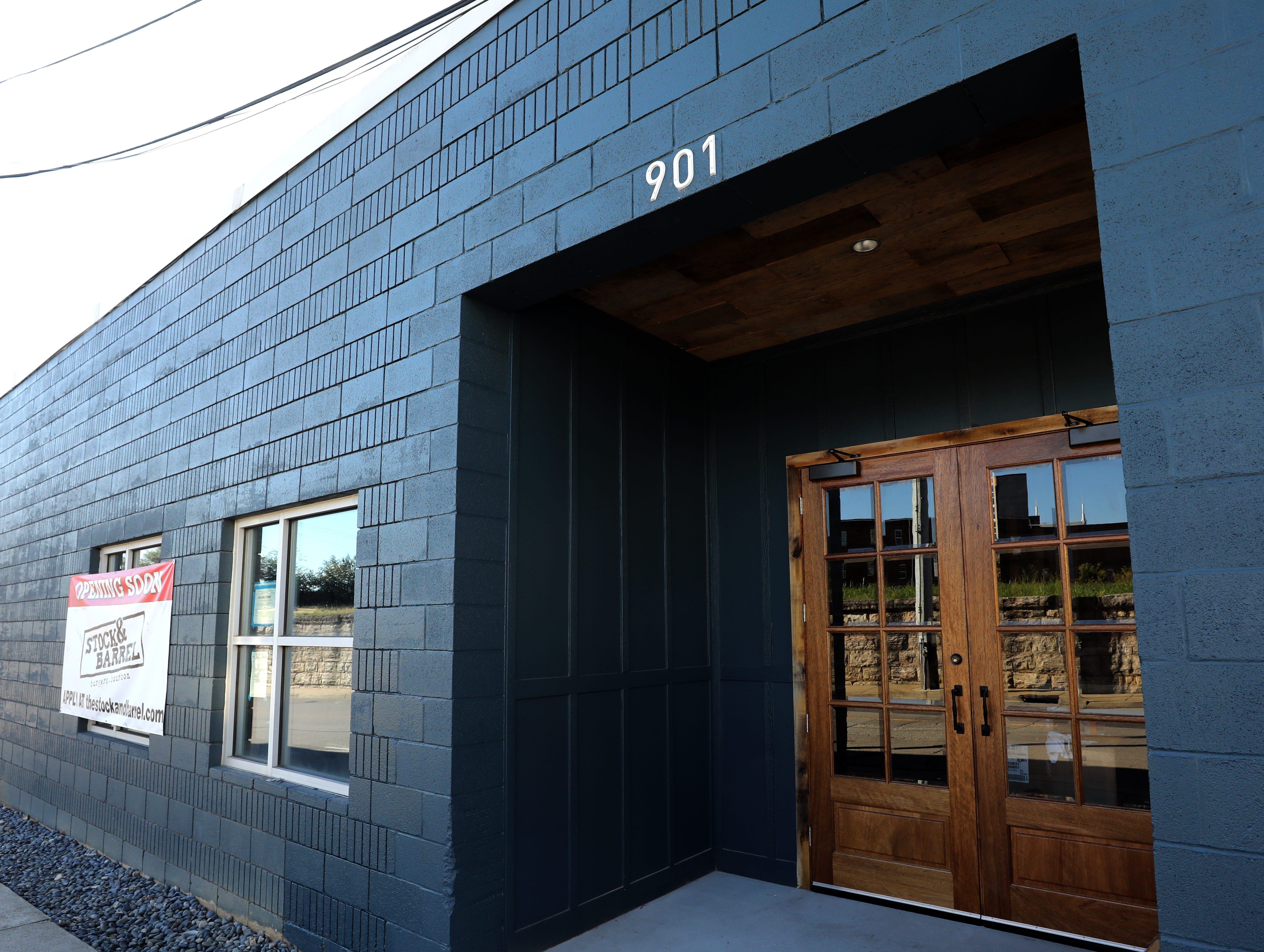 Stock & Barrel is to open at 901 Gleaves Street in Nashville in November.