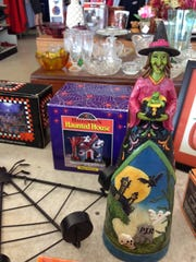 There are tons of Halloween items at Goodwill, 4201 Chapman Highway.
