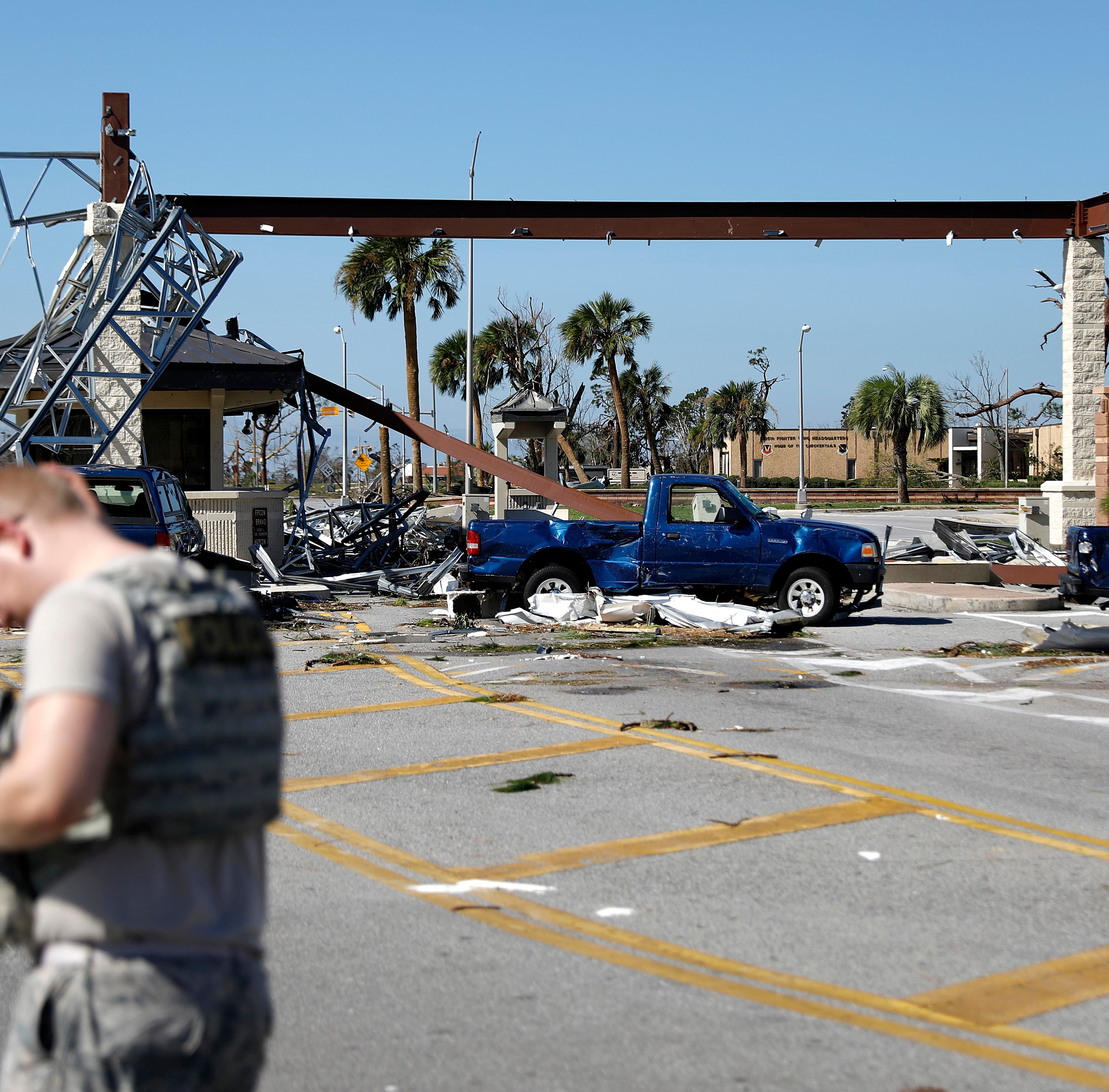 Tyndall will recover after Hurricane Michael, senator vows