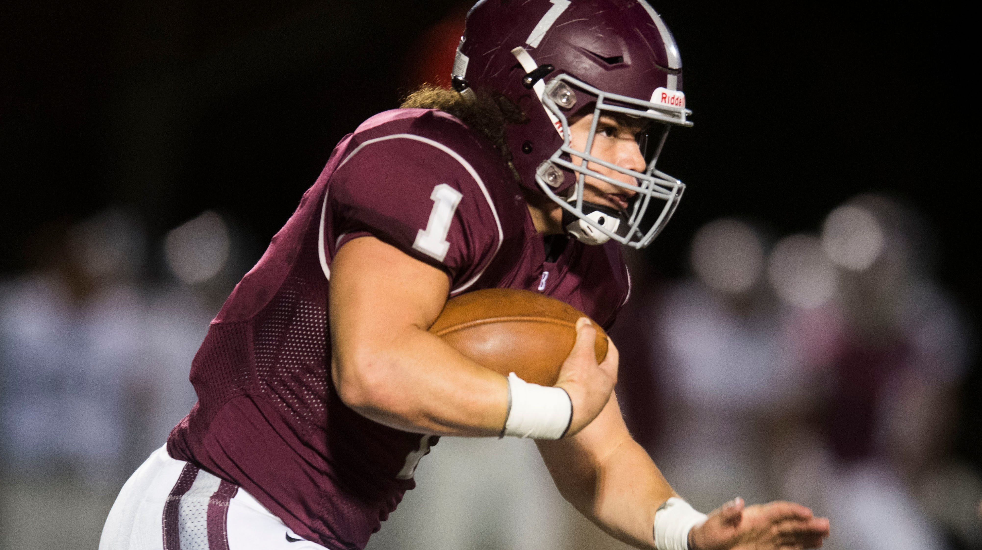 Who were the Week 9 top performers in Knoxville high school football?