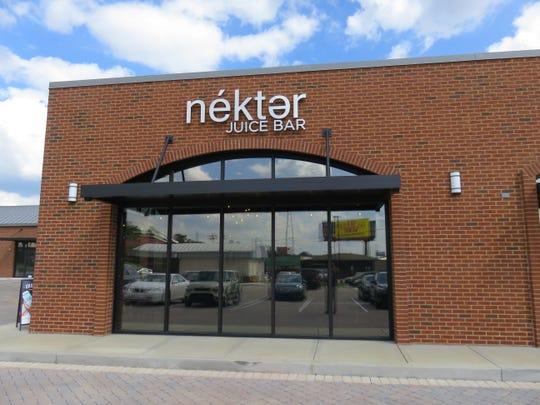 Nekter Juice Bar opened in the Vertex shopping center in Bearden on Sept. 29.