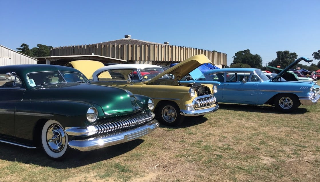 Classic cars return to Blackham Coliseum Saturday for the fourth annual. Bayou Round Up.