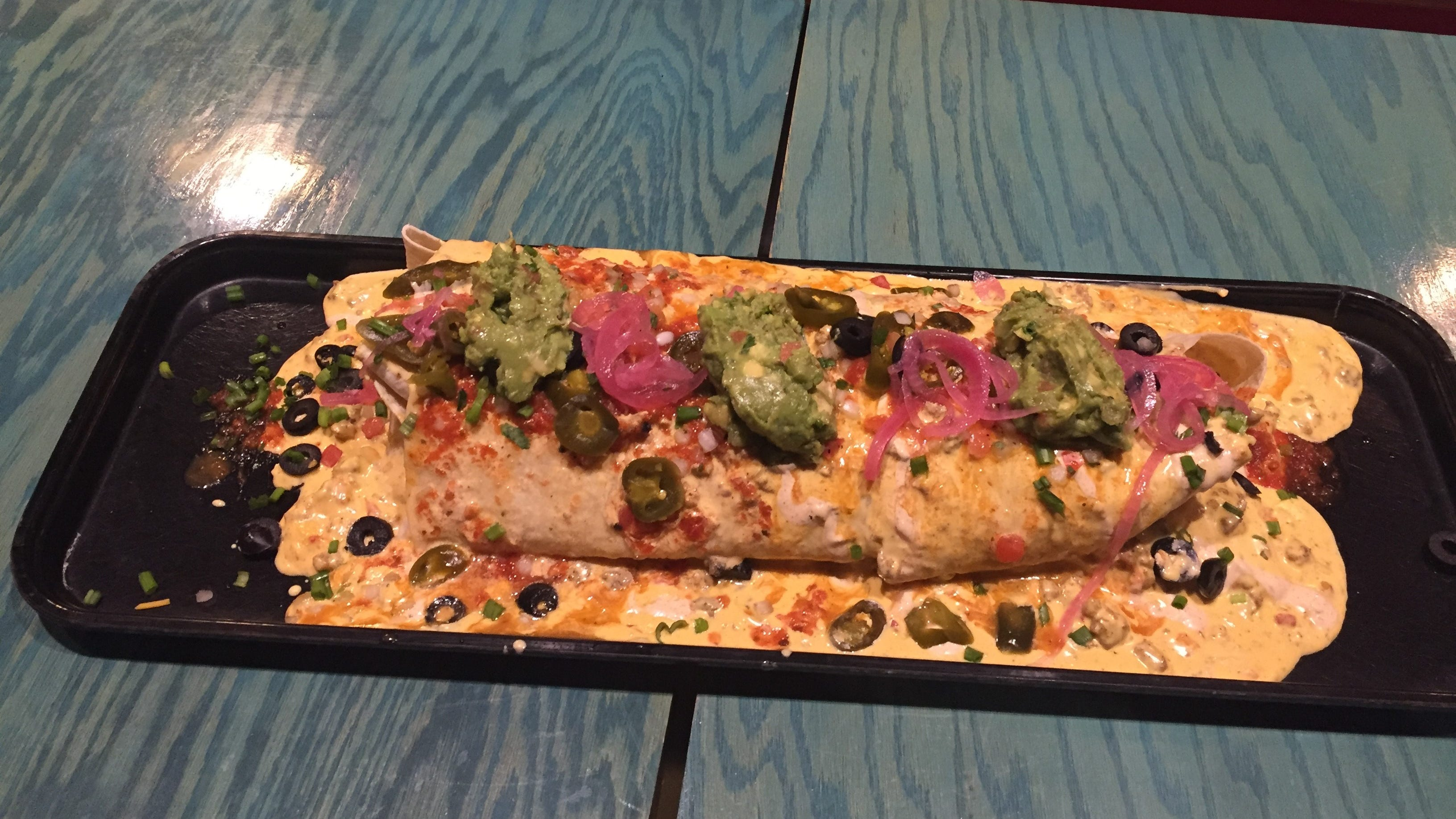 Would you eat this six-pound burrito? Here's where you can try.