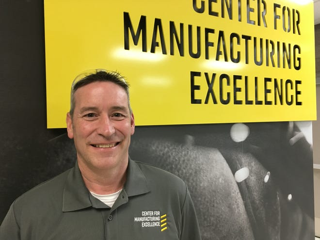 Gregory Butts is a professor of manufacturing and engineering technology programs at Lansing Community College.
