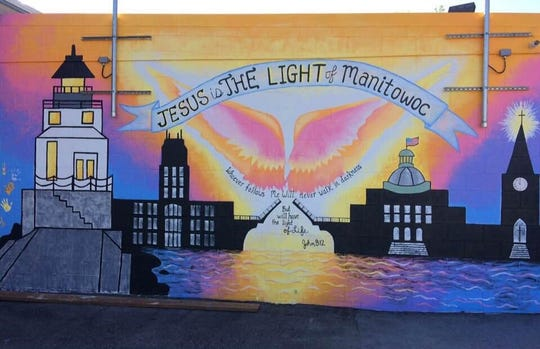 The Salvation Army of Manitowoc County's Light Teen Center has a new mural, courtesy of the efforts of the Mission Manitowoc Group.