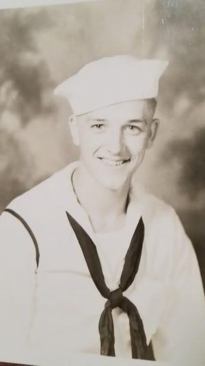 Russell 'Russ' Niebel in 1944.