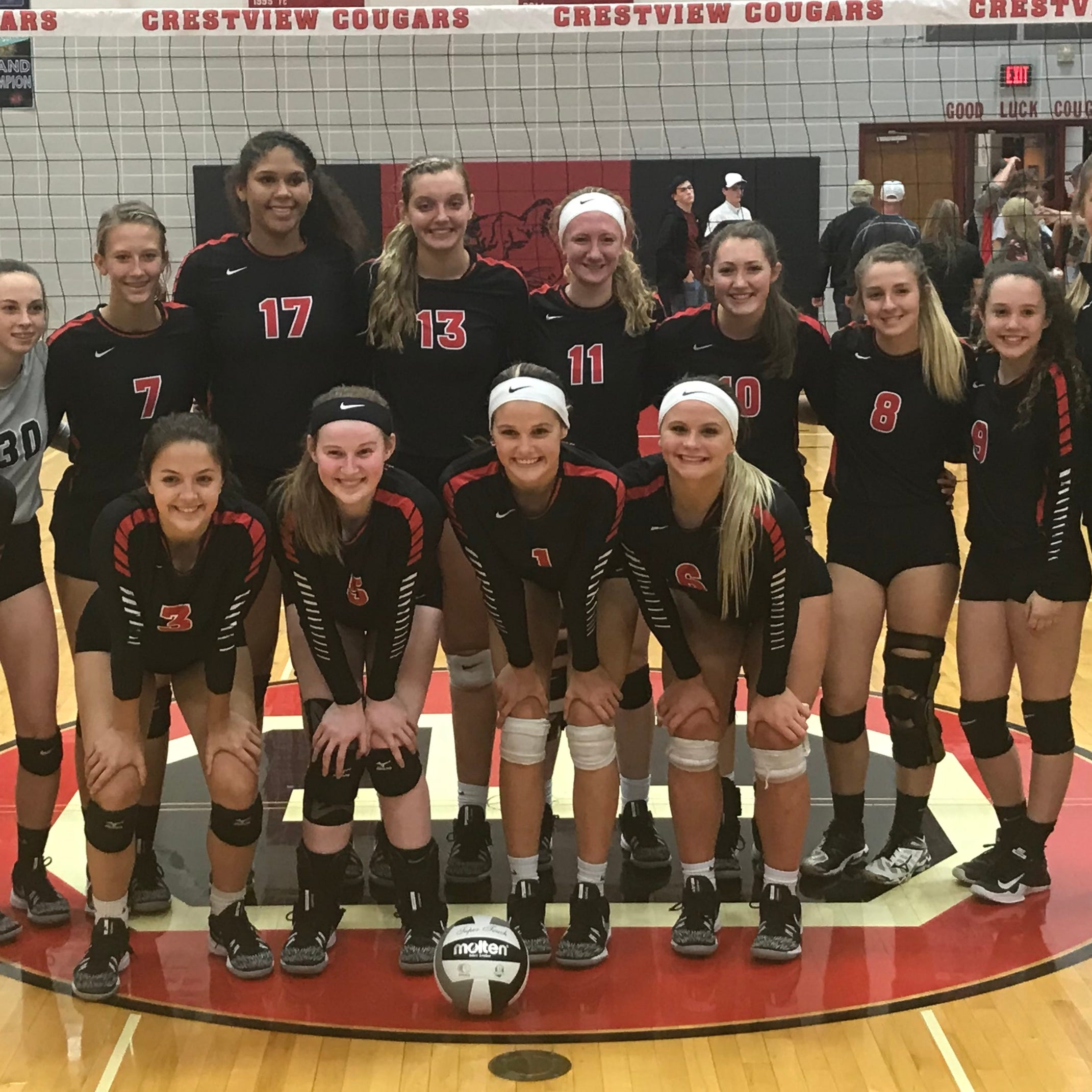 Crestview Lady Cougars claim first Firelands Conference championship in 22 years