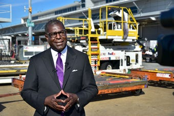 FedEx Express Senior Vice President and Chief Diversity Officer Shannon Brown discusses the company's plans to hire 3,800 seasonal workers in Memphis.