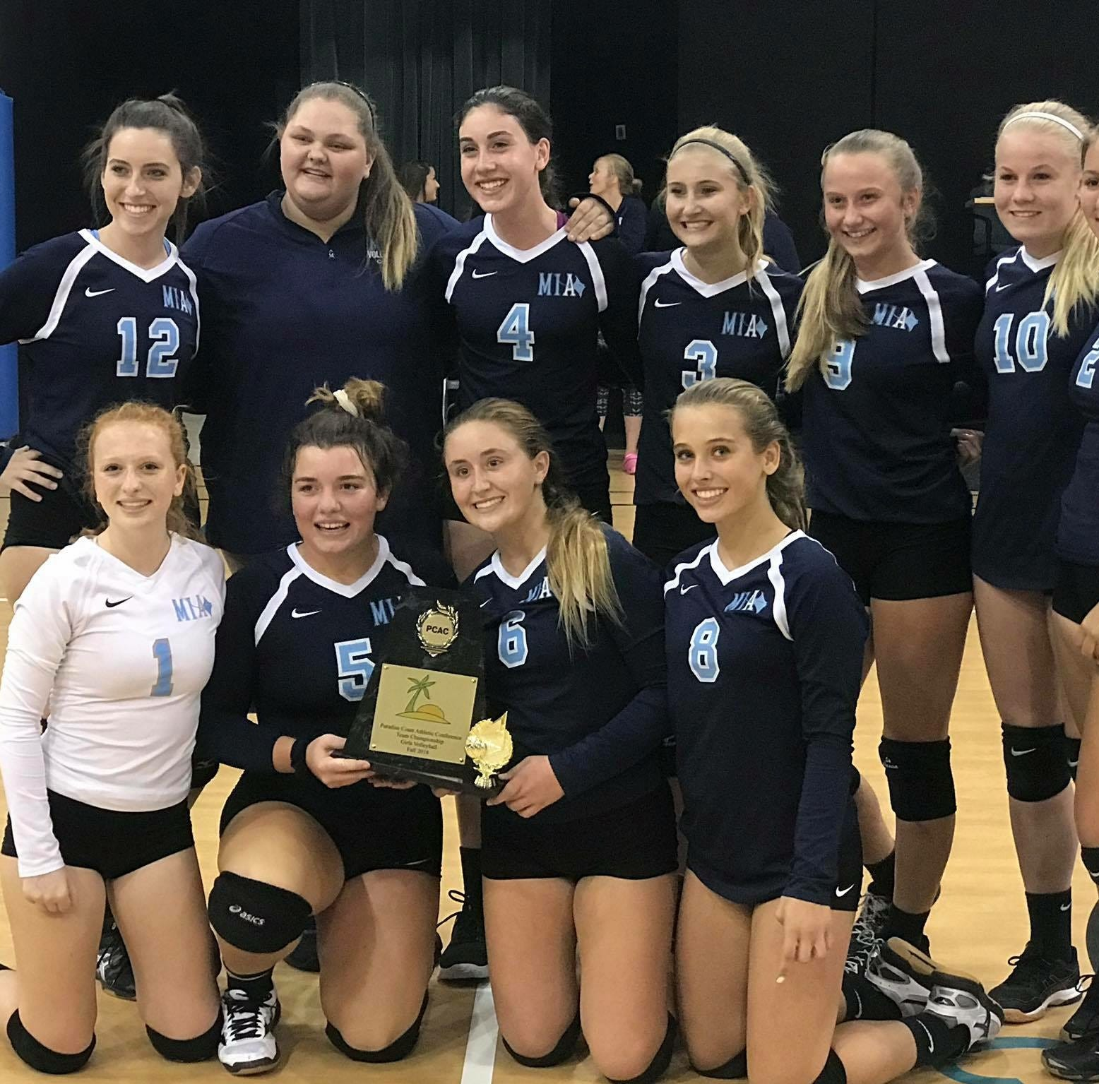 Upstart Marco Island volleyball program wins conference title a year after going winless