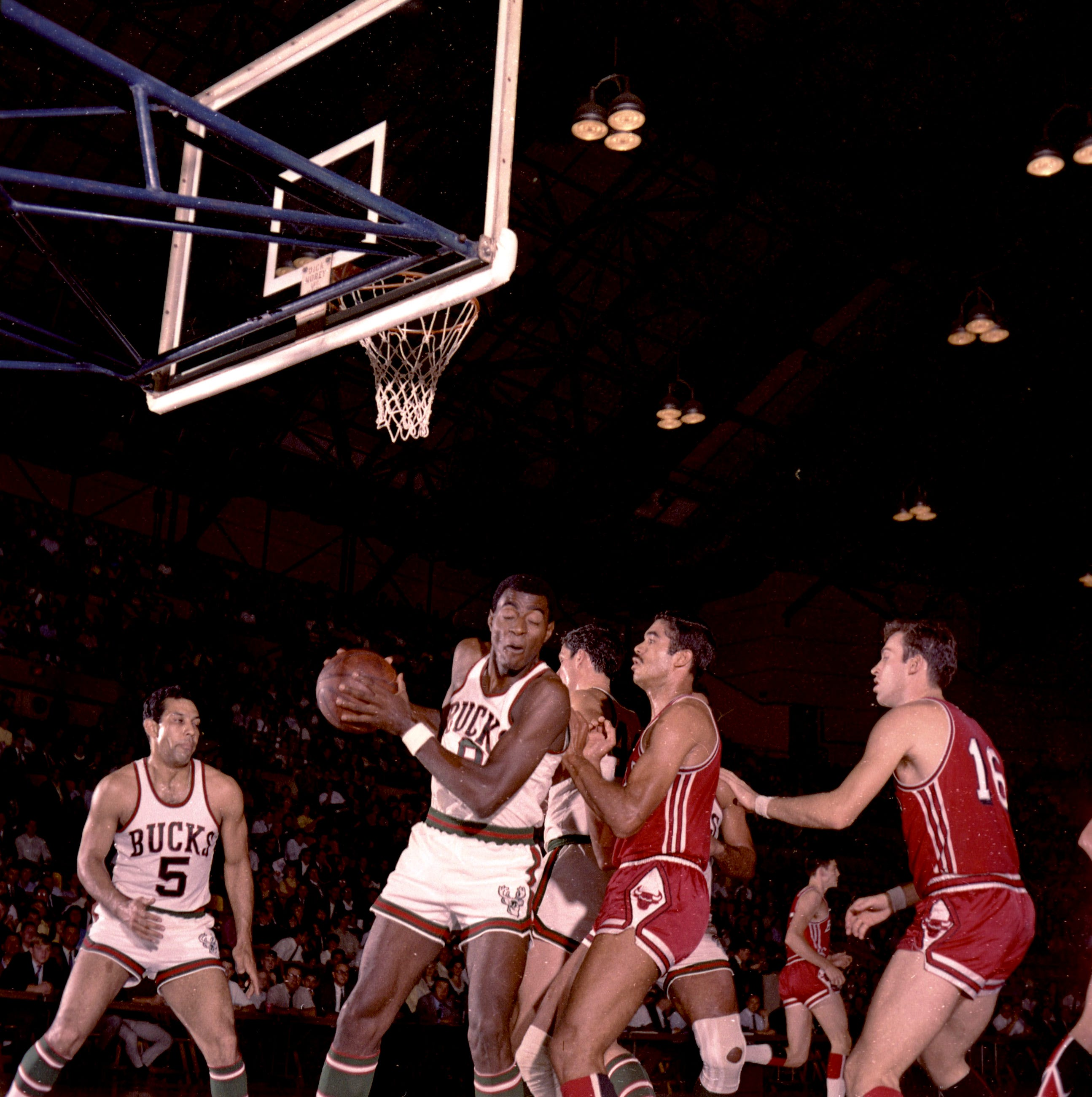 When the Milwaukee Bucks took the court for their first game ever, 50 years ago this week
