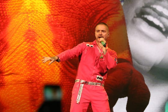 "J. Balvin brought his ""Vibras"" tour to Fiserv Forum Oct. 11. It was the first Latin music tour to play a Milwaukee arena in 18 years."